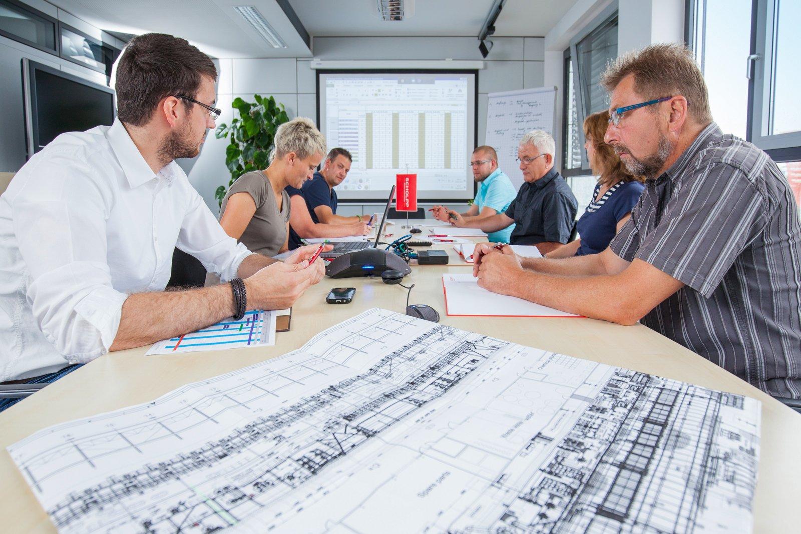 Projektmanagement für Industriemontagen