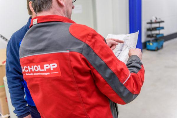 Gut geplante Betriebsumzüge mit einem kompetenten Dienstleister wie SCHOLPP